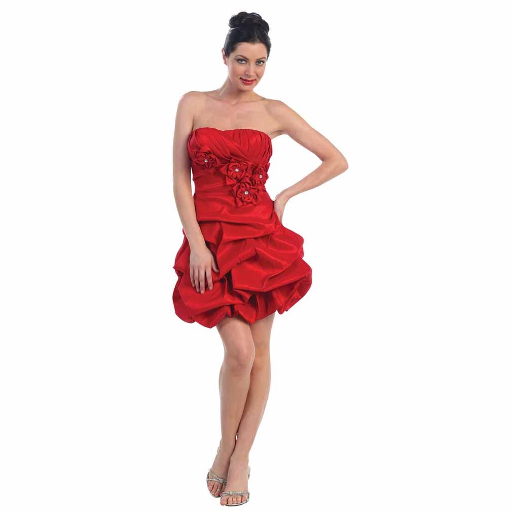 Red dress online 4473