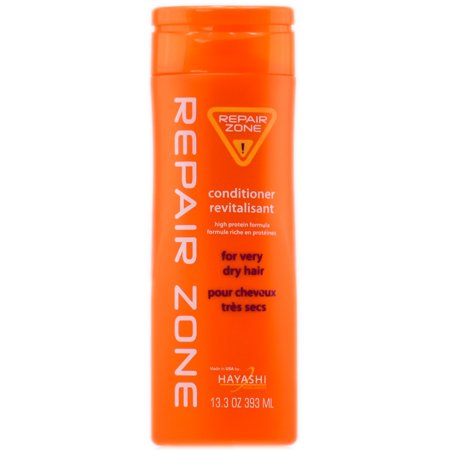 Hayashi Repair Zone Conditioner Revitalisant - For Very Dry Hair - Size : 13.3 oz