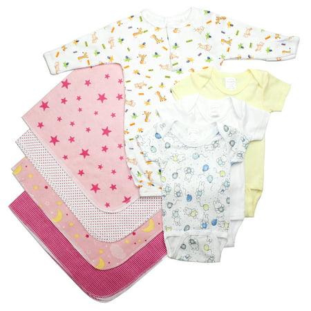 Bambini Newborn Baby Shower Layette Gift Set, 8pc (Baby Girls) - Idee Costumi Halloween Bambini
