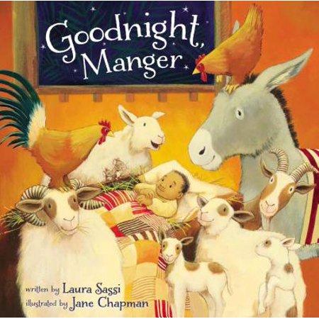 Goodnight, Manger (Board Book)](Manger Silhouette)