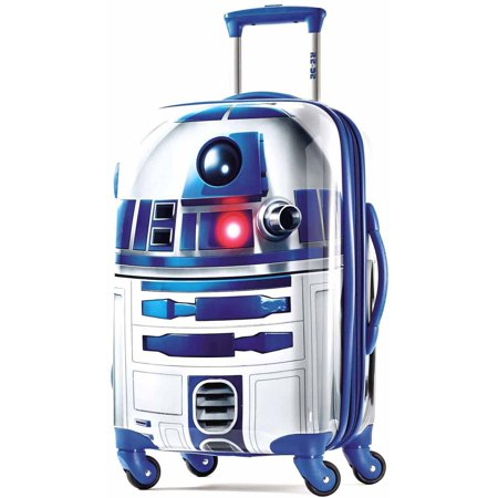American Tourister Star Wars R2-D2 21u0022 Hardside Kids Carry On Suitcase