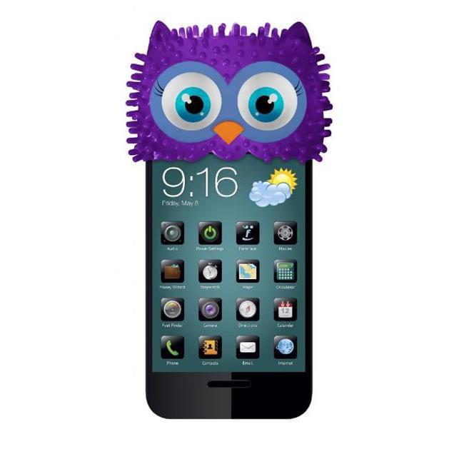 FoneFace T1004x2 Aunt Porie Owl Phone Topper - Lavender, 2 Pack