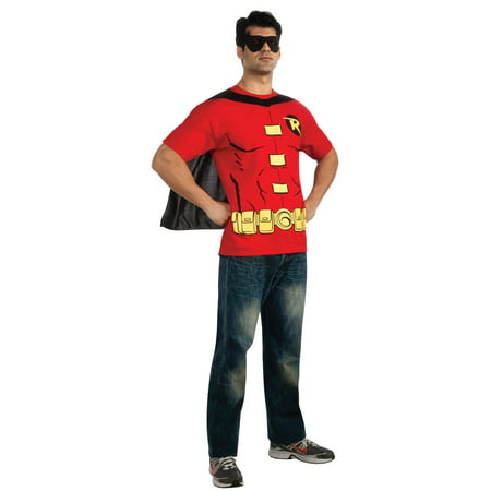 Robin T-Shirt Adult Costume Kit