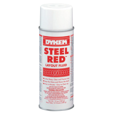 STEEL RED LAYOUT FLUID