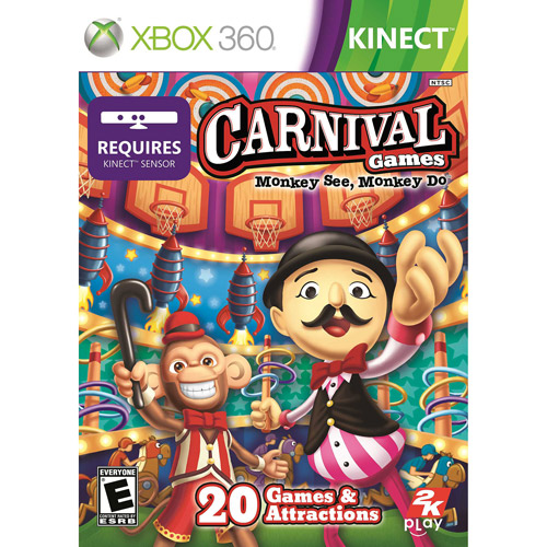 Carnival Games: Monkey See Monkey Do - Xbox 360