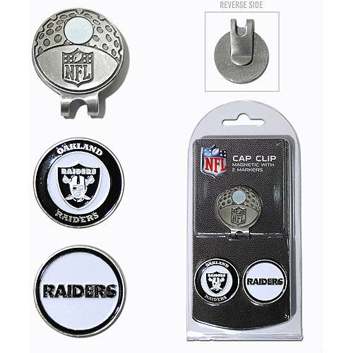 Oakland Raiders 2-Marker Cap Clip