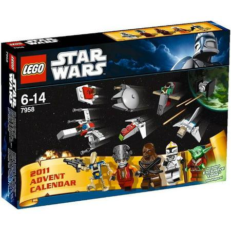 LEGO Star Wars Star Wars 2011 Advent Calendar Set #7958