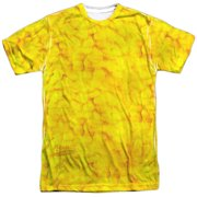 Sesame Street Classic TV Show Big Bird Costume Adult Front Print T-Shirt by
