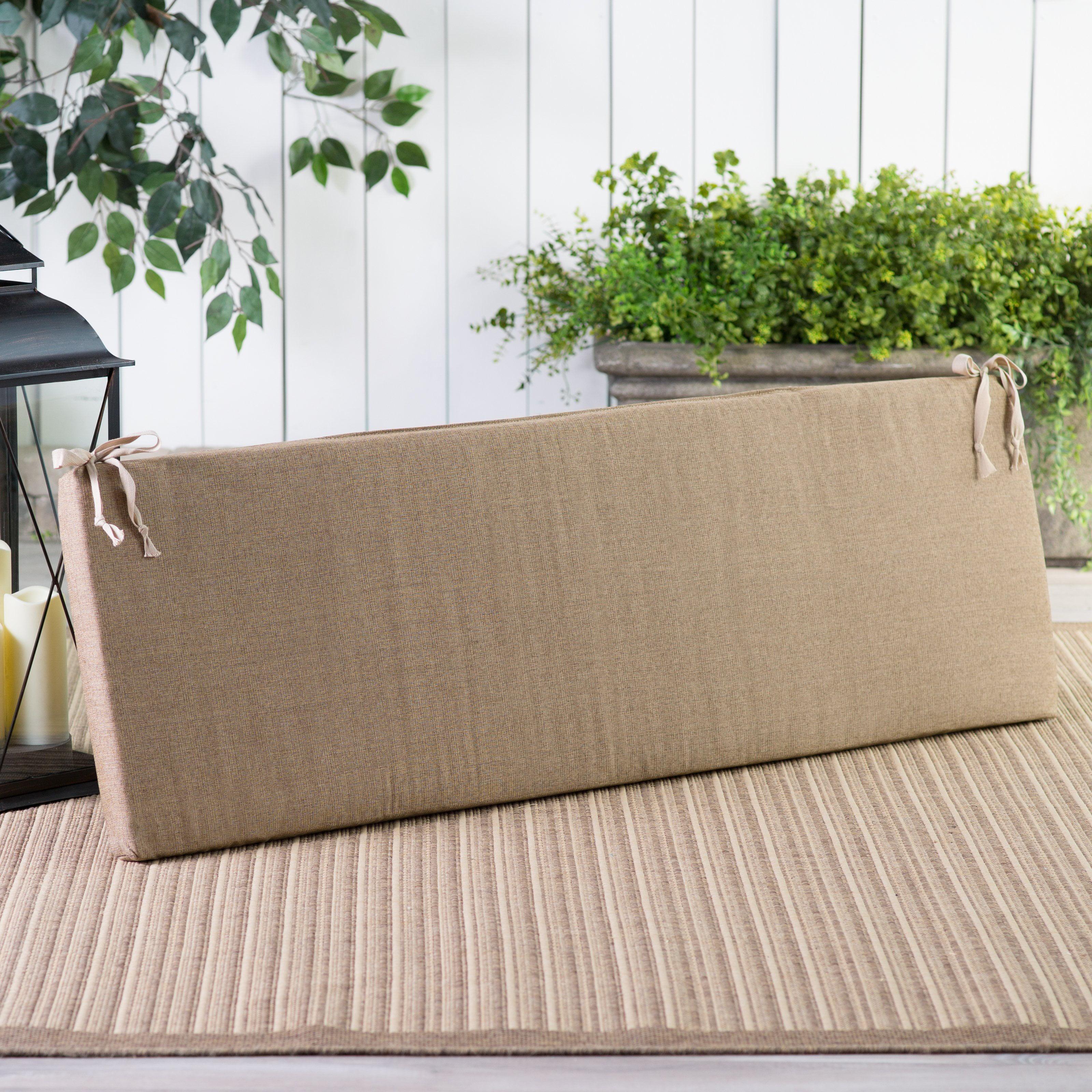POLYWOOD® Sunbrella 56.5 x 17 in. Bench Cushion