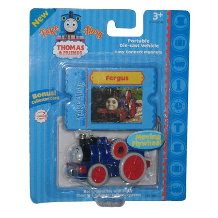 Thomas and Friends Learning Curve Take Along Fergus Die-Cast Toy Train - Learning Curve Take Along Thomas