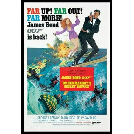 James Bond - On Her Majestys Secret Service Poster Poster Print](James Ensor Poster Halloween)