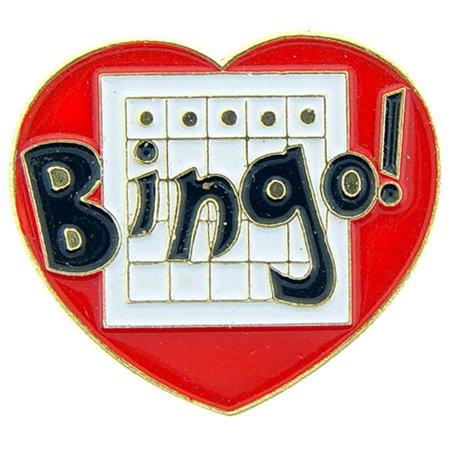I Love Bingo Pin 1