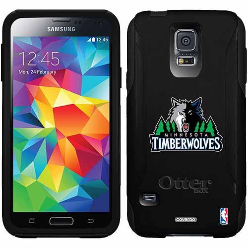 Minnesota Timberwolves Design on OtterBox Commuter Series Case for Samsung Galaxy S5