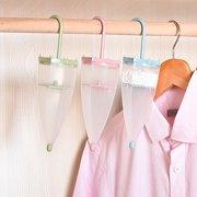 Cheers Reusable Umbrella Shaped Dehumidifier Box Moisture Absorber Bags for Wardrobe,23cm x 7cm
