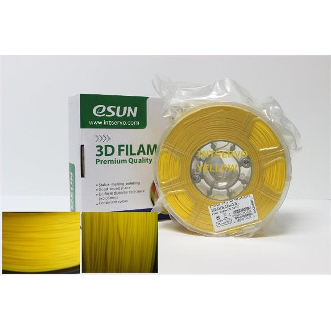 eSun PLA175Y1 PLA Filament - Yellow, 1.75 mm. - 1 kg. Per Roll