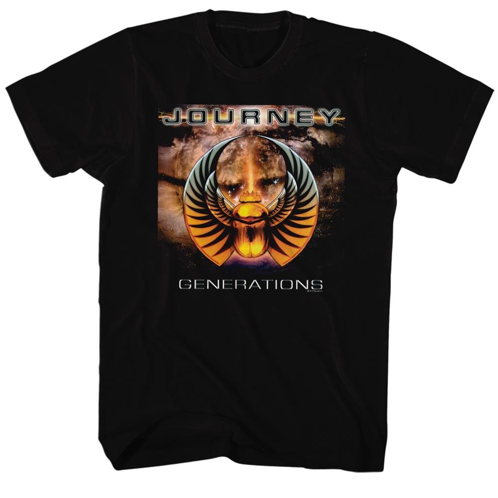 Journey Generations Album Guitar Cover Rock Band Adult T-Shirt Tee - image 1 de 1
