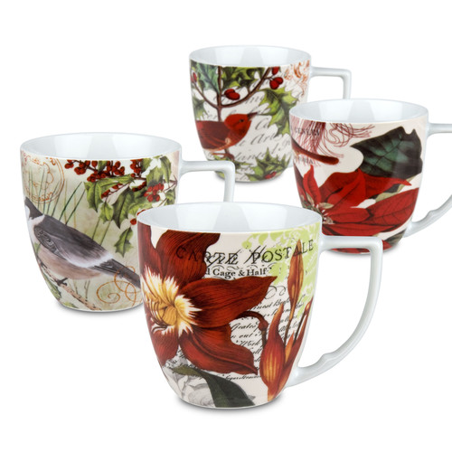 Waechtersbach Accents Traditions 12 oz. Mug (Set of 4)