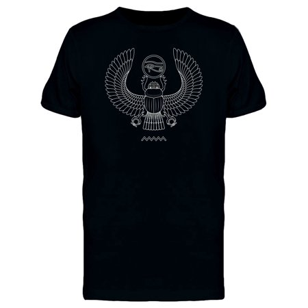 Ancient Egypt Scarab Pattern Tee Men's -Image by Shutterstock