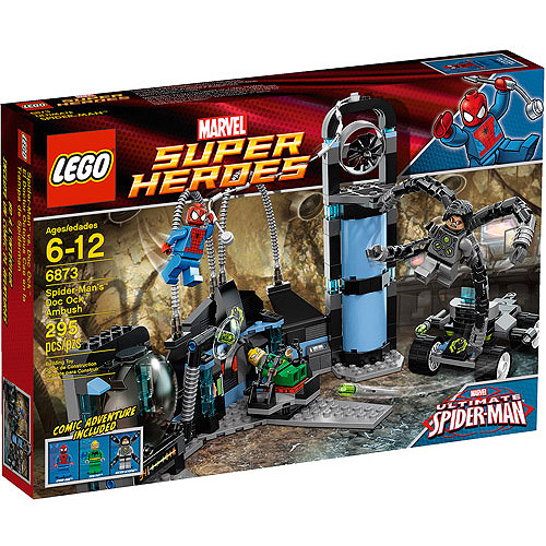 LEGO Super Heroes Spider-Man's Doc Ock Ambush Play Set