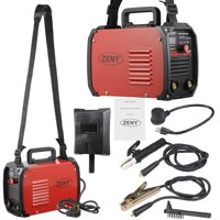 ZENY Mini IGBT ARC Welding Machine MMA Electric Welder Dual Voltage 110V 220V 60-160A DC Inverter