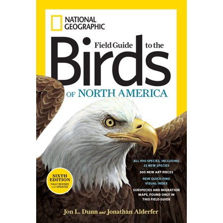 Hunters Field Guide (National Geographic Field Guide to the Birds of North America, Sixth Edition )