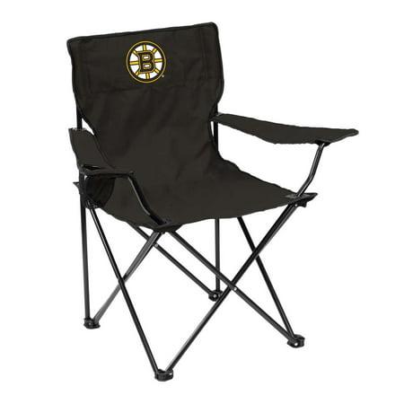 Boston Bruins Adult Quad Folding Logo Chair Adult Folding Logo Chair