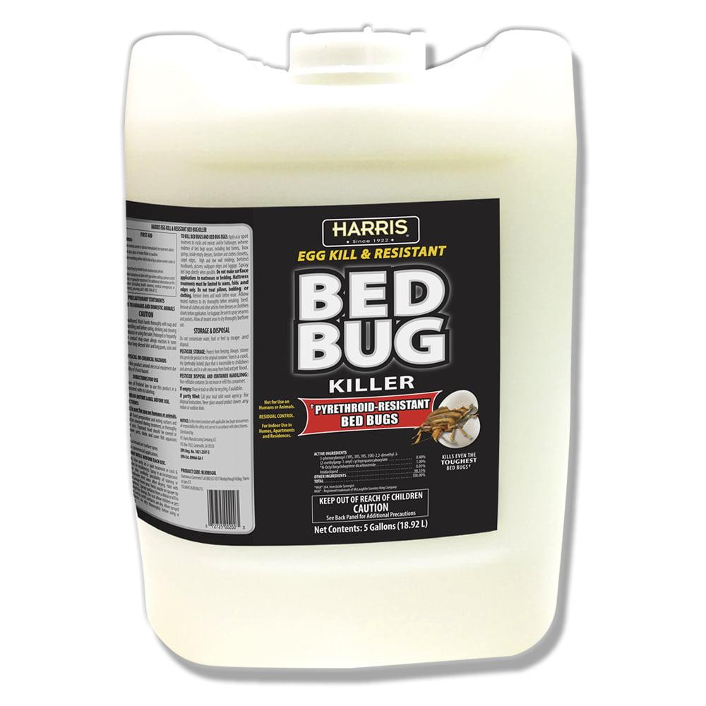 Harris Egg Kill & Resistant Bed Bug Killer, 5 Gallon ...