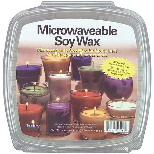 Microwaveable Soy Wax, 1 Pound, For Glass Containers