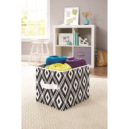 Upc 840358100423 Better Homes Gardens Collapsible Fabric Storage Cube Set Of 2 Black