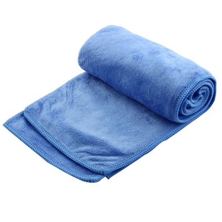 Travel Swimming Hiking Camping Shower Beach Quick Drying Towel Blue