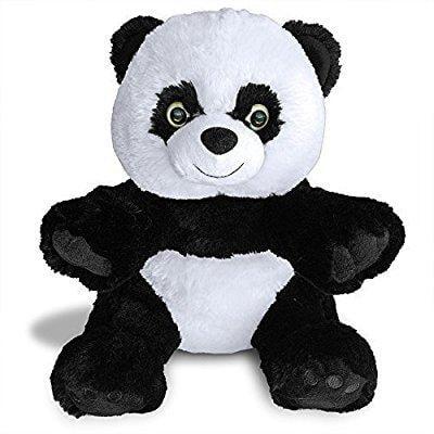 Hashtag Panda Teddy Bear By Build A Furry Friend  Cuddly Soft Plush 16 Inch Stuffed Animal  Handmade Quality  With Stuffing  Star Heart   Birth Cert  Stuff  Zip  Hug In 2 Min  Best Gift 2015 2016