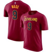 Dwyane Wade Cleveland Cavaliers Nike Name & Number Performance T-Shirt - Wine