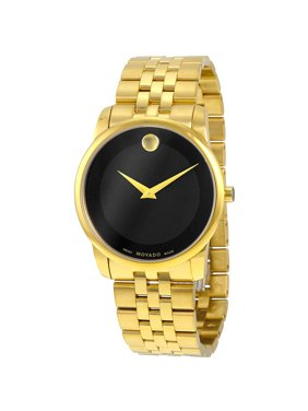 Movado Museum Classic Gold-Tone Mens Watch 0606997