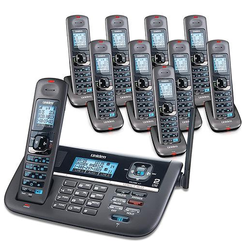 Uniden DECT4086-10 2 Line Cordless Phone System by Uniden