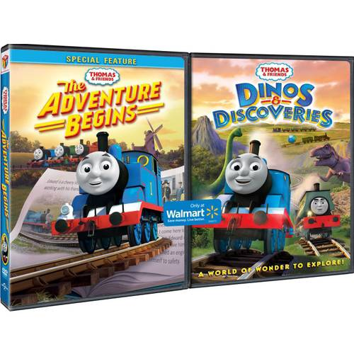 Thomas & Friends: The Adventure Begins / Thomas & Friends: Dinos & Discoveries (Widescreen)
