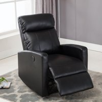 Christies Home Living Sean Leather Power Reclining Reading Chair With Usb Port