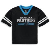 Product Image Toddler Black Carolina Panthers Mesh Jersey V-Neck T-Shirt 2fe7d7eac