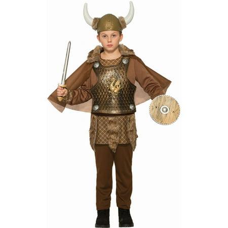 Halloween Viking Warrior Child Costume