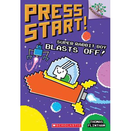 Super Rabbit Boy Blasts Off! (Paperback)