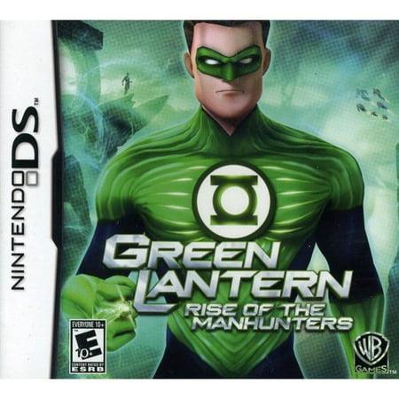 Green Lantern: Rise Of The Manhunters (DS) (Green Lantern Video Game Xbox)