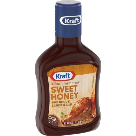 Kraft Sweet Honey Barbecue Sauce & Dip 18 oz. Bottle