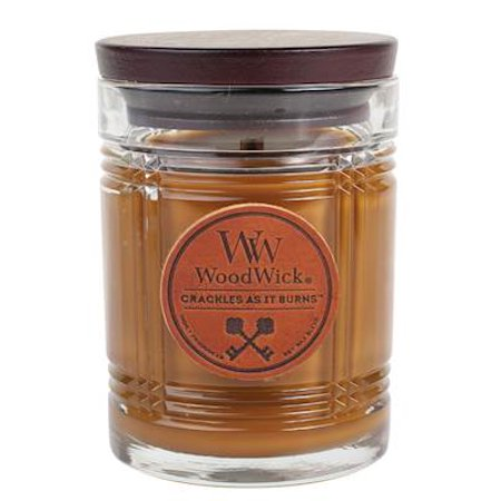 - HUMIDOR - RESERVE WoodWick 8.5 oz Scented Jar Candles