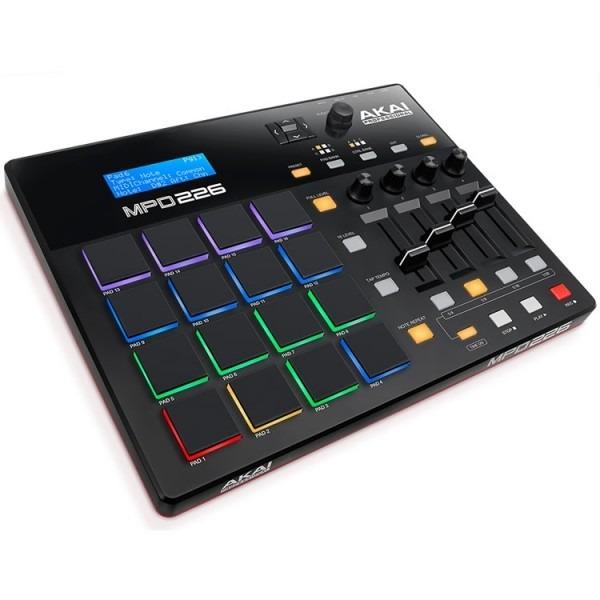 Akai MPD226 Pad Controller DJ Equipment RGB Keys by