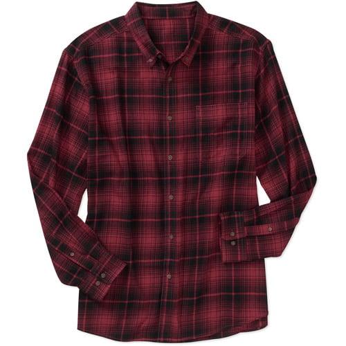 Faded Glory Men's Flannel Shirt