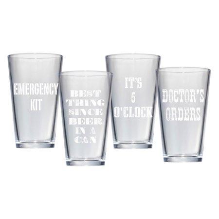 Artland Beer Pub Glasses - Set of 4