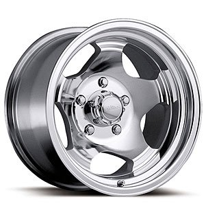 "Ultra Wheel 50K Silver Wheel with Machined Finish  (15x8""..."