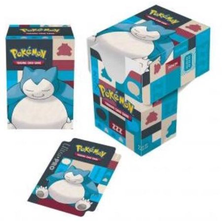 Full-View Deck Box - Pokemon, Snorlax New ()