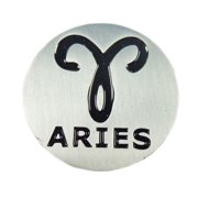 NEW EVERGOLF Zodiac Sign Aries Metal Golf Ball Marker