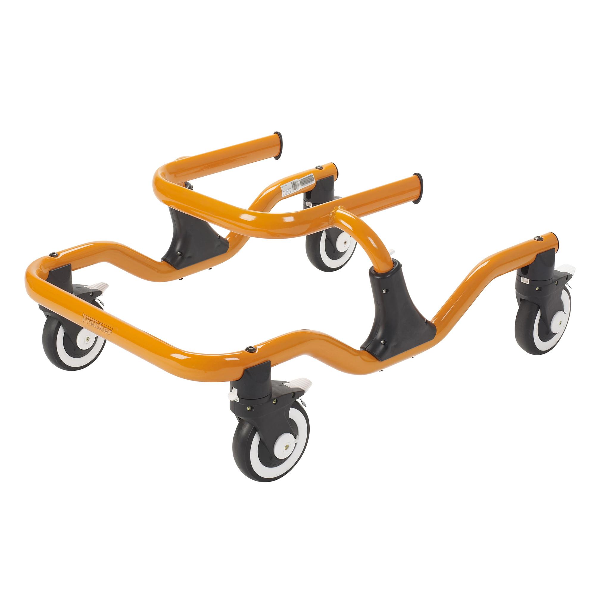 Drive Medical Trekker Gait Trainer, Tyke, Orange