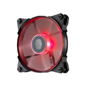 Cooler Master JetFlo 120 POM Bearing 120mm Red LED High Performance Silent Fan